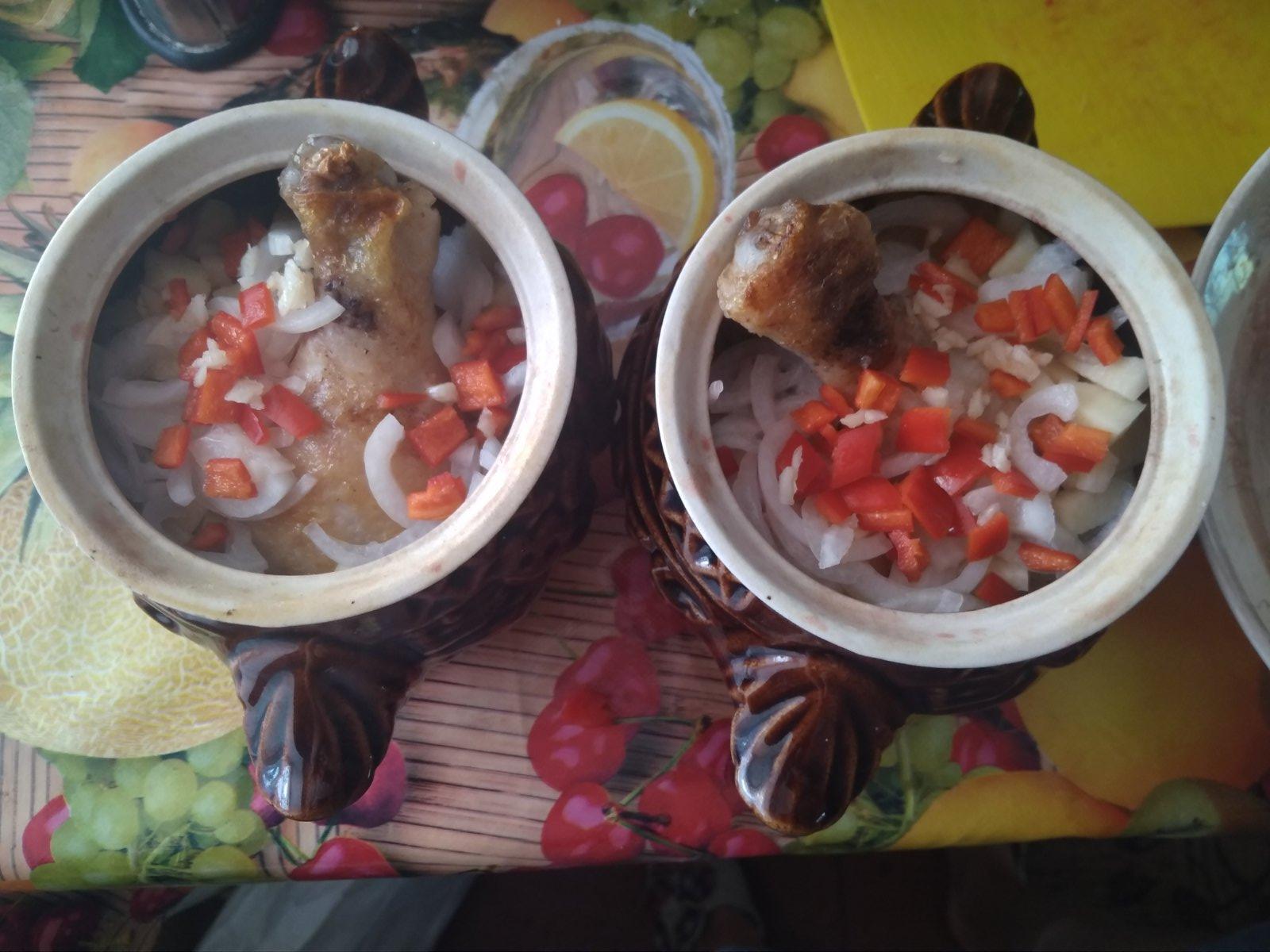 Вкусный суп в духовке «Овощной»