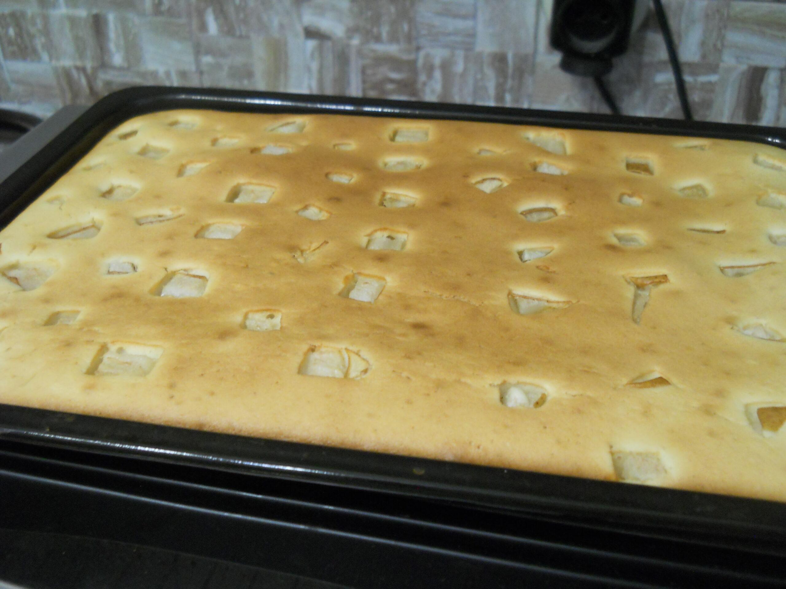 Рецепт простого песочного пирога к чаю