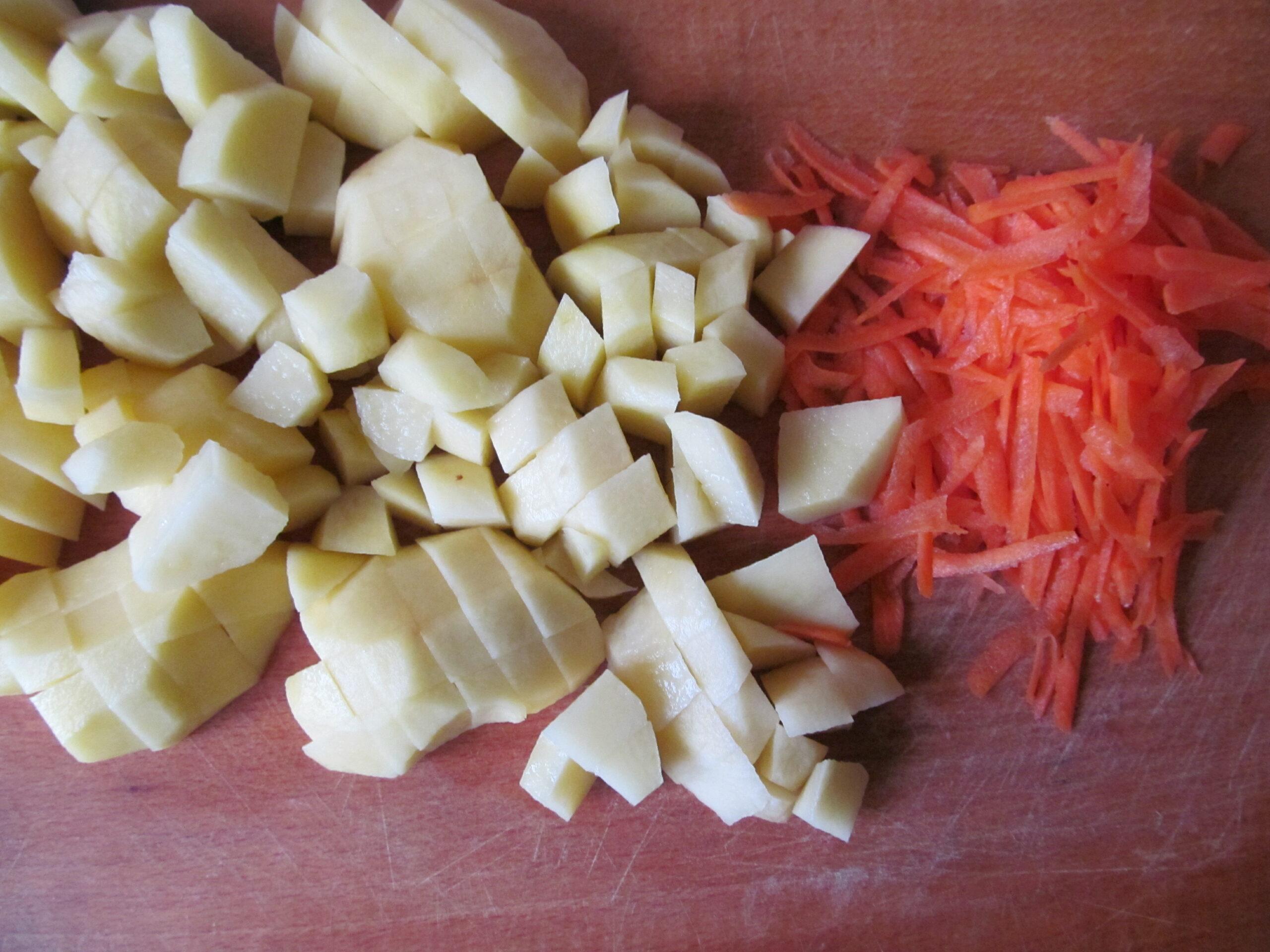 Суп с фрикадельками, родом из детства