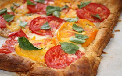 Рецепт приготовления пиццы на слоеном тесте