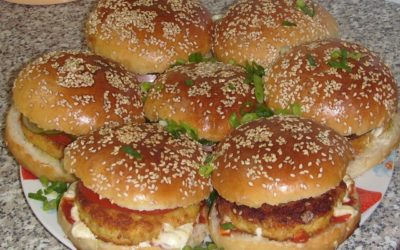 Рецепт домашнего гамбургера