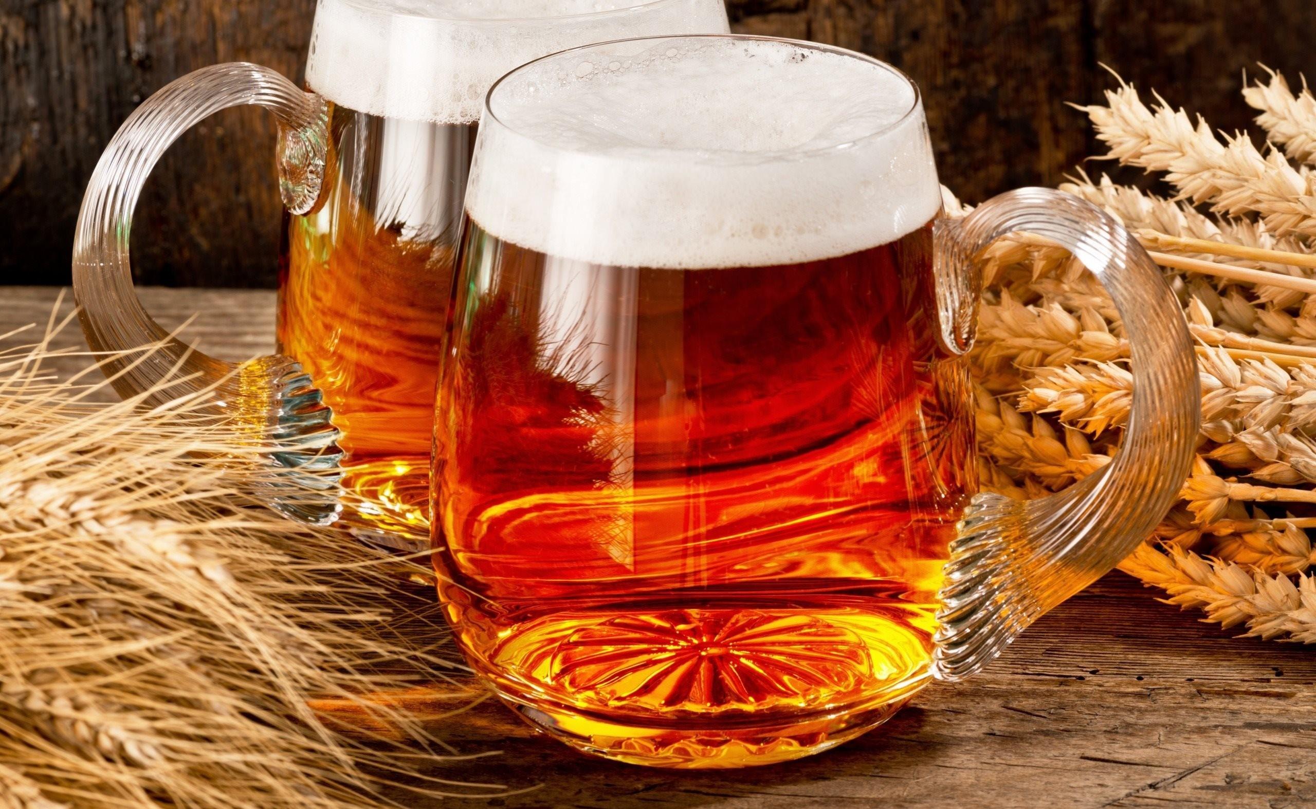 Пиво не только как напиток, но и как лекарство для волос