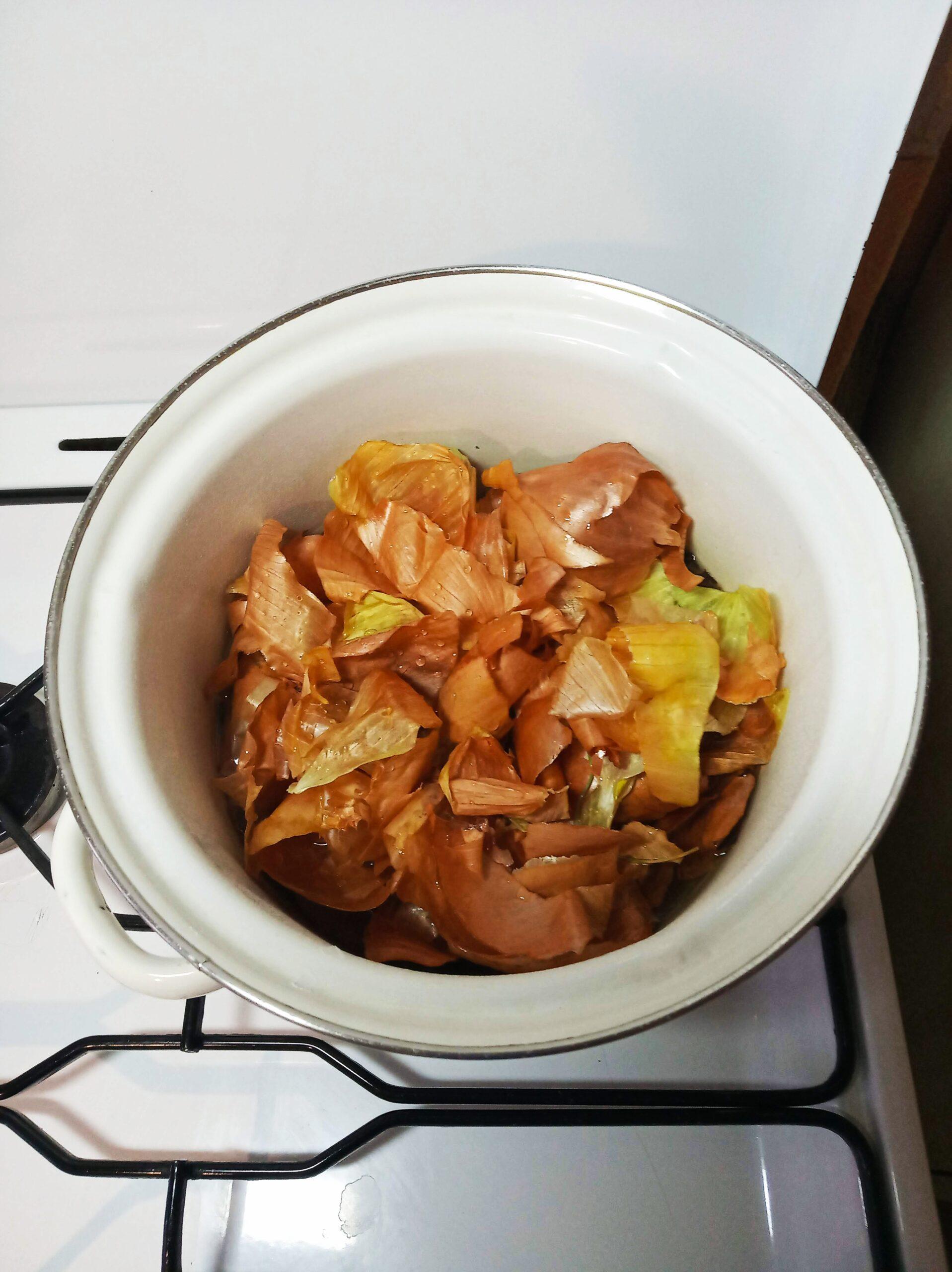 Рецепт засолки сала с луковой шелухой