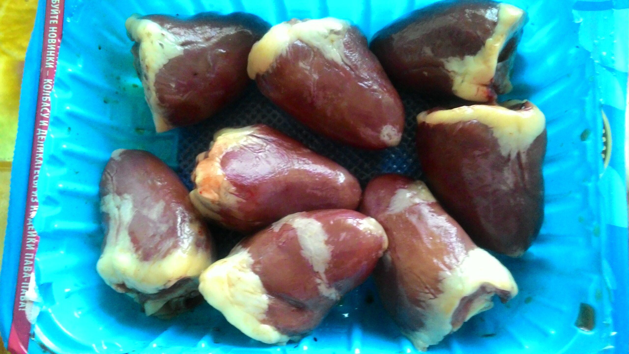Рецепт очень вкусных шашлыков из сердец индейки