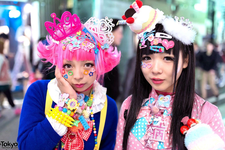 Современный японский стиль Harajuku