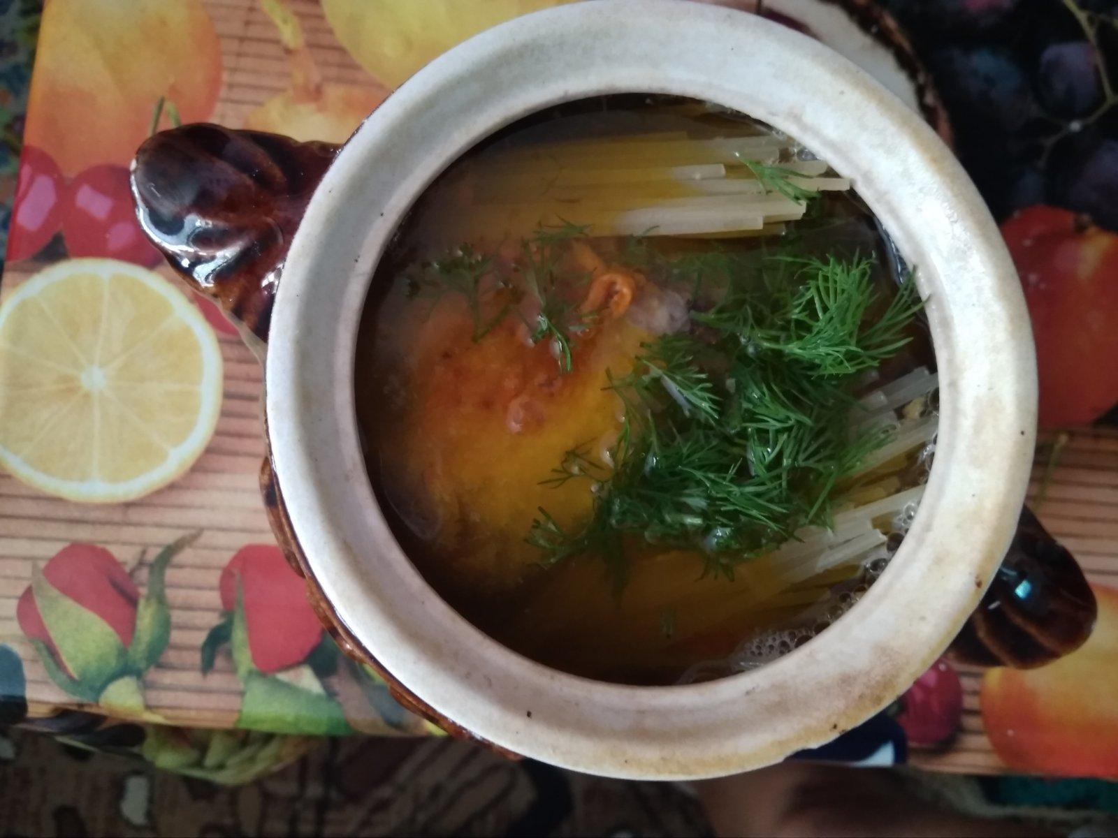 Рецепт вкусного супа с куриными крылышками в духовке