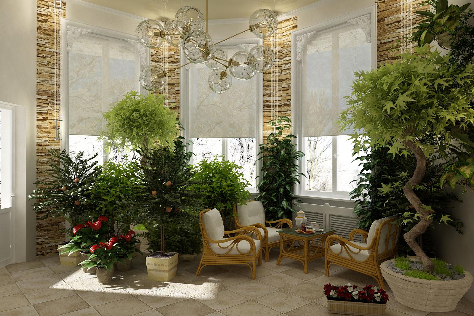 Делаем зимний сад в квартире