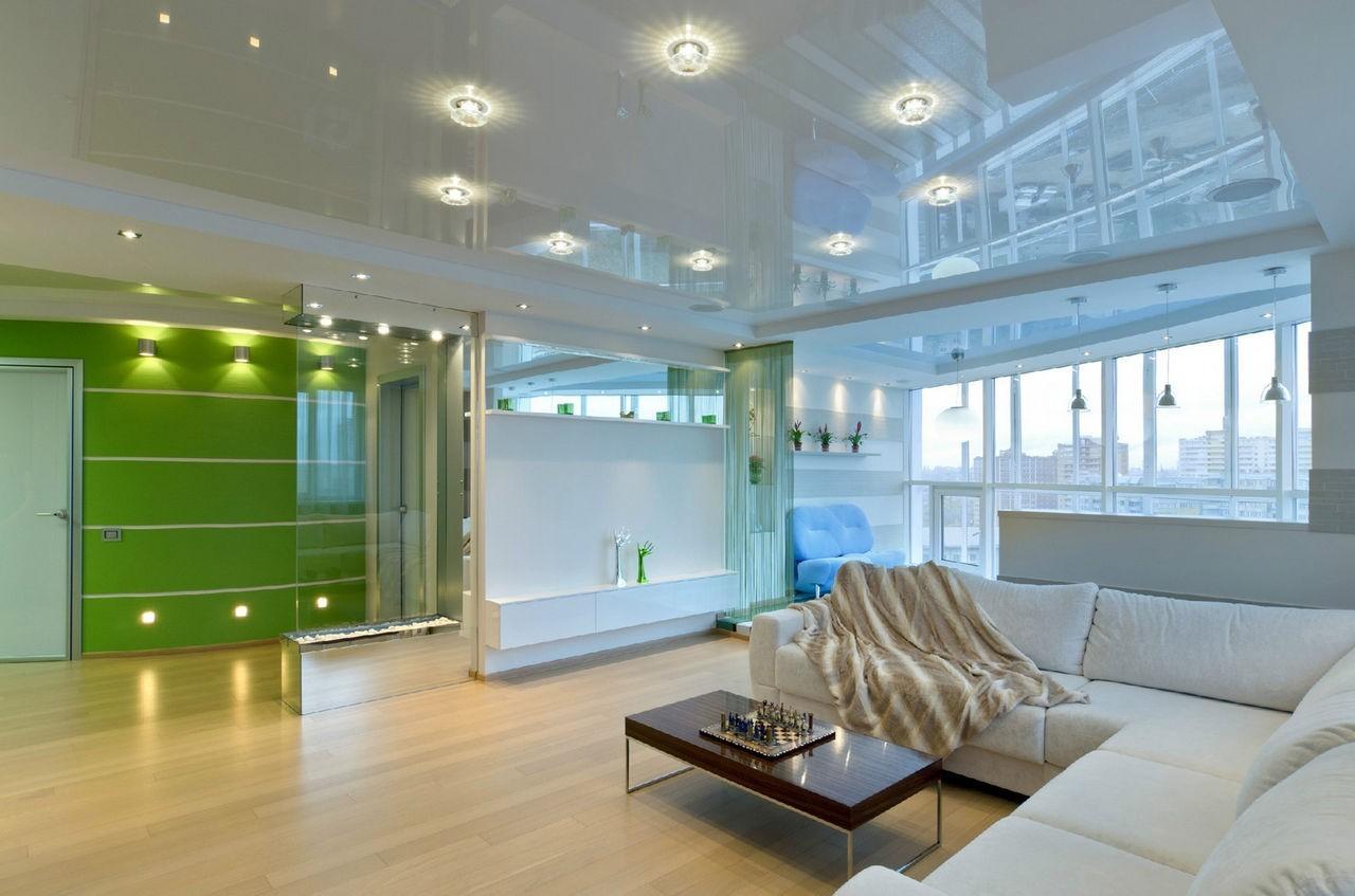 Основные плюсы и проблемы подвесных потолков
