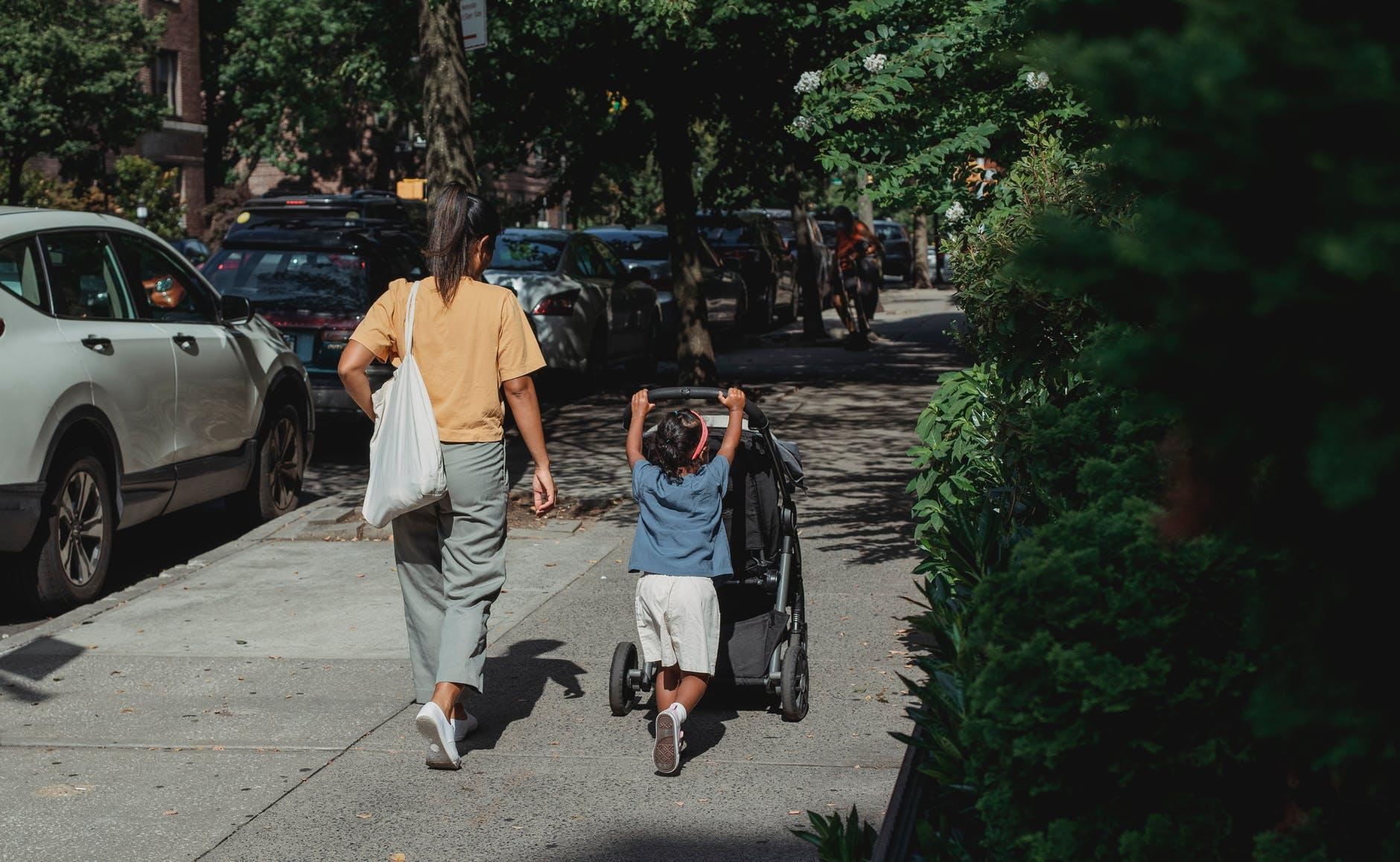 Правильные прогулки с ребенком