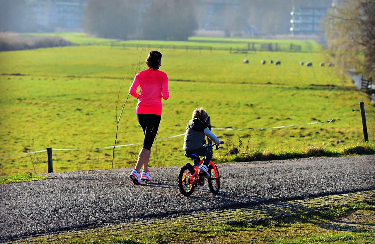 Развитие характера ребенка с помощью велосипедных прогулок